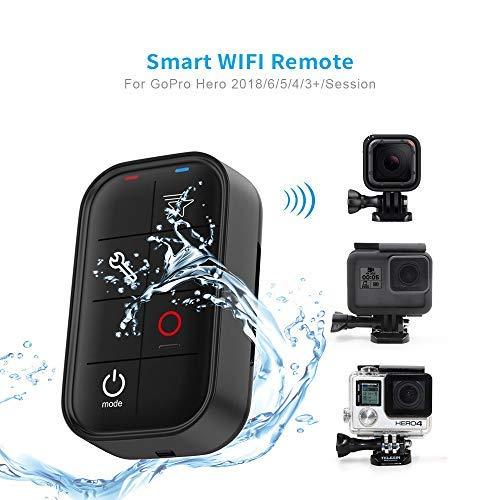TELESIN Smart Wireless Telecamere Remote Controller per GoPro Hero5 Back / Hero5 Sessione / 4 Sessioni / 4/3/3 +