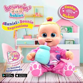 Bouncing Babies My Real Buddy Expressions Bounie, Multicolor, única (Cife Spain 41658)
