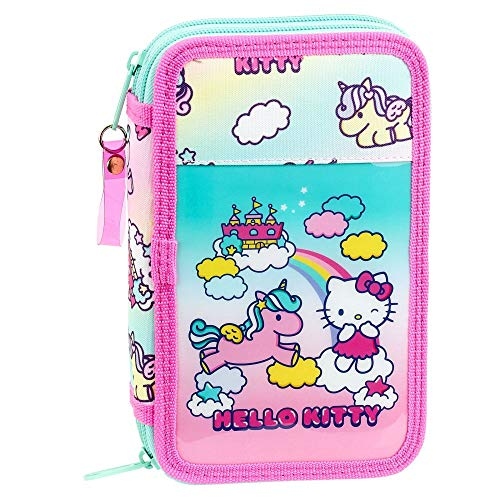 Hello Kitty Candy Unicorn - Borsa a tracolla, 28 pezzi