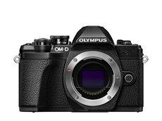 Olympus OM-D E-M10 Mark III - Cámara Evil de 16.1 MP (4k, FHD, LCD, Pantalla abatible, táctil, WiFi, 8.5 imágenes por Segundo, OLED) Negro - Solo Cuerpo