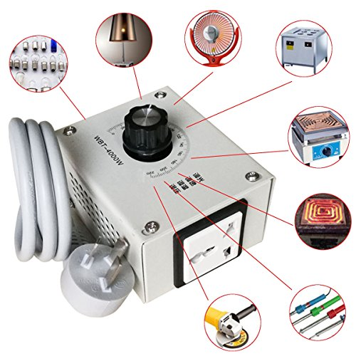 4000W AC 220V Controller di tensione variabile per il dimmer di temperatura di motore di...