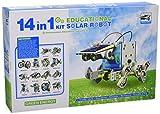 CEBEKIT-C9921 CEBEK Kit Educativo Solar 14 EN 1, Color Amarillo (C9921