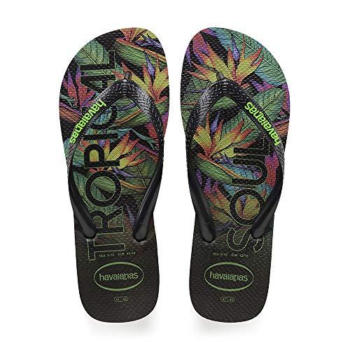 Havaianas Top Tropical, Infradito Uomo, Multicolore Black 1069, 45/46 EU