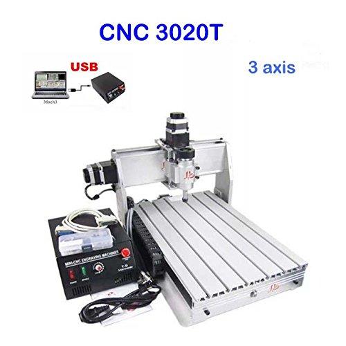 macchina per incisioni, CNC 3020, a 3 assi, 200 W, per PCB e legno