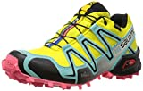 Salomon Damen Speedcross 3 Gtx Laufschuhe, Mehrfarbig (Citrus-X/Bubble Blue/Madder Pink), 42 EU