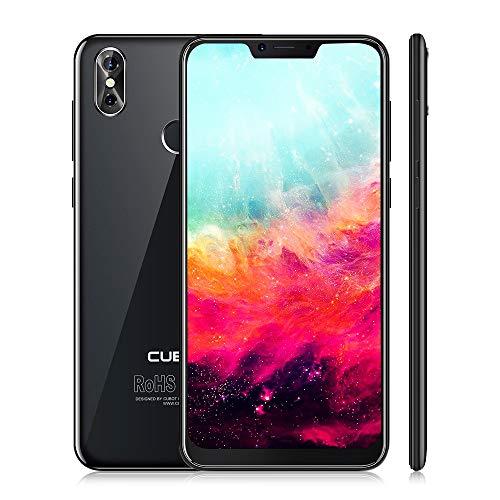"CUBOT P20 Smartphone 4G Móviles Libres Android 8.0 LTE Pantalla IPS de 6.18"" Cámara 20.0 MP + 2 MP Dual SIM Standby ROM 4GB RAM 64GB Bluetooth/GPS / WLAN (Negro)"