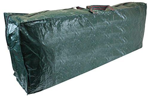 CKB Ltd - Sacca con cerniera per riporre l'albero di Natale artificiale, taglia extra large per alberi alti fino a 2,7 m, sacco con cerniera robusta, ideale da usare in garage, solaio e capanno