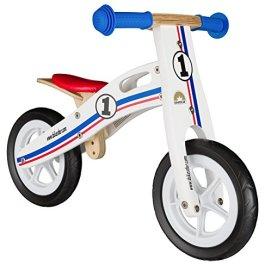 BIKESTAR Bicicletta Senza Pedali in Legno 2-3 Anni per Bambino et Bambina Bici Senza Pedali Bambini