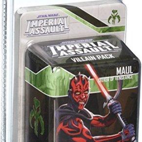 Star Wars Imperial Assault Darth Maul Villian Pack - English