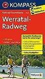 Fahrrad-Tourenkarte Werratal-Radweg: Fahrrad-Tourenkarte. GPS-genau. 1:50000. (KOMPASS-Fahrrad-Tourenkarten, Band 7023)