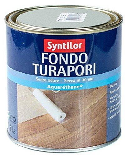 Syntilor FONDO TURAPORI LEGNO PARQUET ACQUA ACQUARETHANE 2,5 L