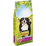 Friskies Vitafit Maxi : au Bœuf - 18 KG - Croquettes pour Chien Adulte de...