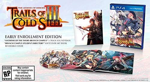 The Legend of Heroes Trails of Cold Steel III (Early Enrollment Edition) PS4 US IMPORT