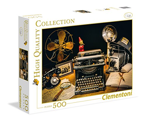 Clementoni - 35040 - High Quality Collection Puzzle - Typewriter - 500 Pezzi