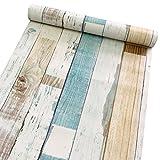 Papier adhésif de protection et décoration d'étagère 45 x 200 cm
