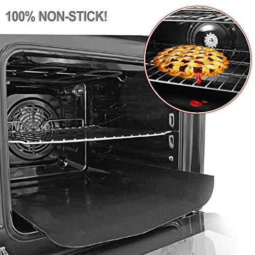 Rivestimento robusto in Teflon per il forno, tappetino per cucina, grill e forno a gas, elettrico, a...