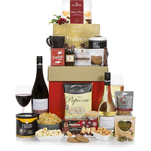 Winter Wonders Christmas Hamper - 2018 Luxury Christmas Hampers - Xmas Gifts & Wine Gift Baskets Range