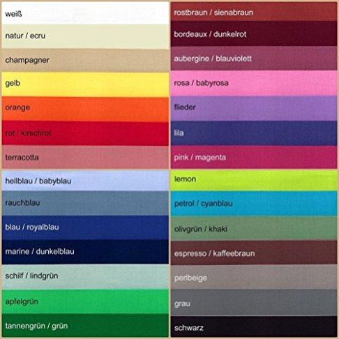Baumwollstoff-UNI-Meterware-155gm-kotex-Standard-100-dicht-gewebt-29-Farben