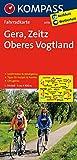 Gera - Zeitz - Oberes Vogtland: Fahrradkarte. GPS-genau. 1:70000 (KOMPASS-Fahrradkarten Deutschland, Band 3078)