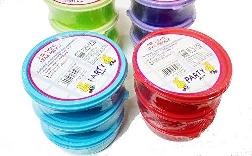 ARTBOX Plastic Microwave Safe Bowls - 12 Pieces