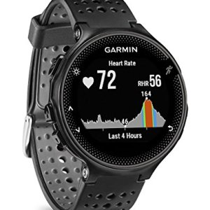 Garmin - Forerunner 235 - Montre de Running GPS avec Cardio au Poignet (Ecran : 1,23 pouces) - Noir/Gris