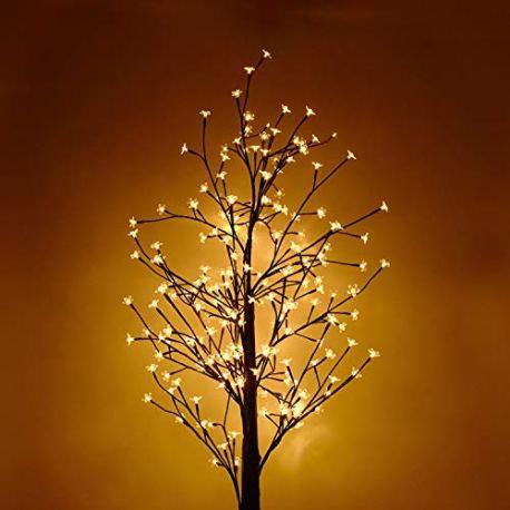 HENGMEI-Arbre-Lumineux-Artificiel-Fleurs-de-Cerisier-clairage-Blanc-Chaud-pour-Nol-la-Maison-Vacances-Nouvel-an