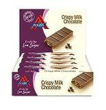 Atkins Endulge Crispy Milk Chocolate Low Carb and Sugar Snack Bar, 30 g, Pack of 15