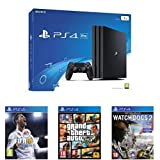 Pack PS4 Pro + FIFA 18 + GTA V + Watch Dogs 2 Deluxe