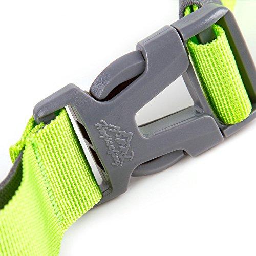 Generic Waterproof Nylon Waist Bag Outdoore Running Climbing Pack Belt Money Wallet for Men and Women - dark blue
