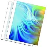 Fellowes Carpetas para encuadernación térmica estándar 3 mm, pack de 100, color blanco
