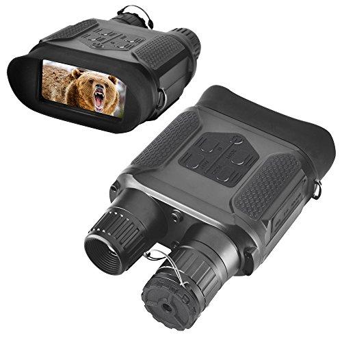 """Landove, Binocolo per visione notturna per caccia, 7x 31con schermo LCD TFT HD da 2"""", camera a..."""
