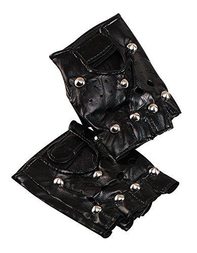Bristol novità BA187borchie punk guanti, taglia unica