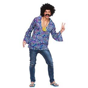Wicked Costumes Disfraz de Hippie para adultos, ideal para fiestas y disfraces de Halloween