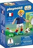 Playmobil- 9513-Joueur de Foot Français, 9513, Multicolore