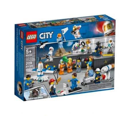 Lego City Space 60230 People Pack - Ricerca e Sviluppo Spaziale (209 Pezzi)