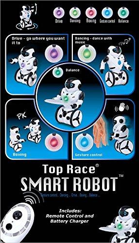 51jwGb%2BbjUL - Top Race Control remoto RC Robot de juguete, Robot de equilibrio inteligente, 5 modos de funcionamiento, Baile, Boxeo, Conducción, Carga, Gesto. Transmisor de 2,4 GHz. TR-P3