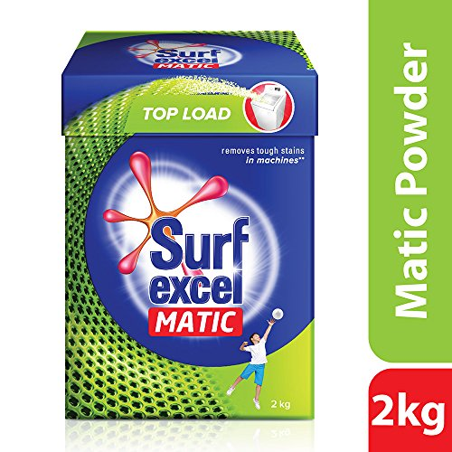 Surf Excel Matic Top Load Detergent Powder, 2 kg 1