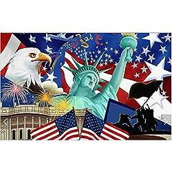 Papier peint personnalisé 3D non-tissé non tissé photo murale sticker déesse de style européen de la liberté 3D peinture salle murales papier peint, W200xH140cm