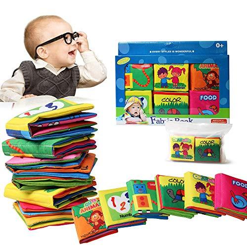 Bambino Cognition libro (6 PCS), Wholethings Intelligence Development panno Animal libro Learning &...