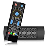 SZILBZ Bluetooth Remote Wireless Mini Keyboard, Air Mouse with Backlit,Best for Android TV Box,HTPC, IPTV, PC, Raspberry Pi 3,HD 4k pro