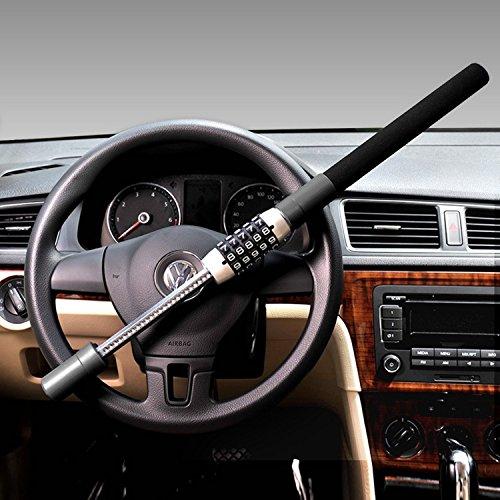 Canne Antivol Renforcée, Serrure de Volant, sécurité voiture,Dispositif...