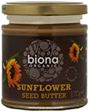 Biona Organic Sunflower Seed Butter 170g (Pack of 3)