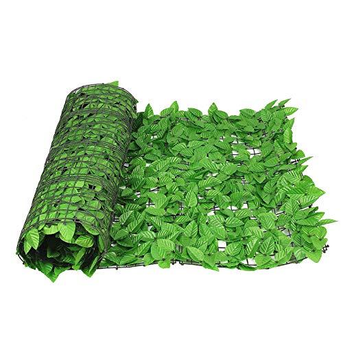 tcatec Artificial Cortasetos Colgantes Plantas Hiedra Viña Pared para Hogar Habitaciones Jardín Boda Guirnalda Mantener Fuera Decoración–Verde
