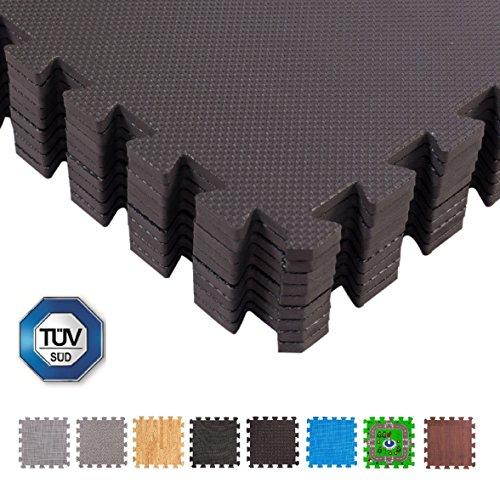BodenMax Tapis Max Tapis de Protection 30x 30cm, Puzzle de Sol Tapis Tapis Tapis de Gymnastique Sport Fitness Tapis Tapis de Protection du... 21