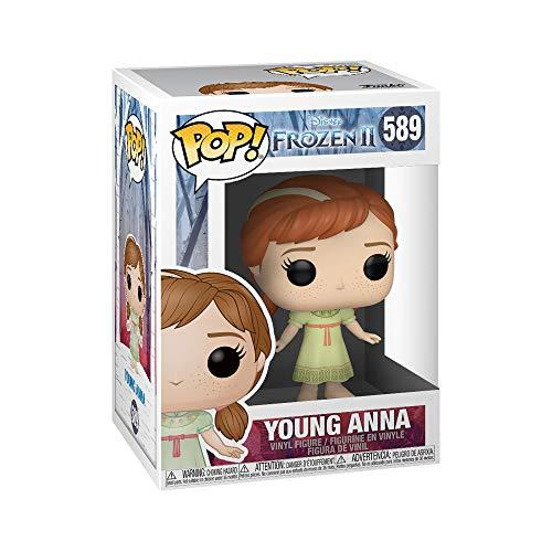 Funko- Pop Disney: Frozen 2-Young Anna Figura Coleccionable, Multicolor (40889)