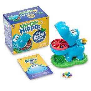Learning Resources Uh-Oh, Hippo Juego de Memoria, Multicolor (XLR-EI2887)