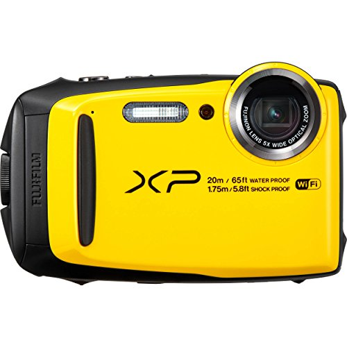Fujifilm Digital Kamera FinePix XP120 16,4 MP gelb