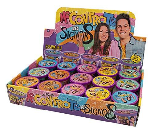 officina edicola Una Barattolo Me Contro Te Luì e Sofì VS Signor S 2 Slime in 1 Gummy con Glitter