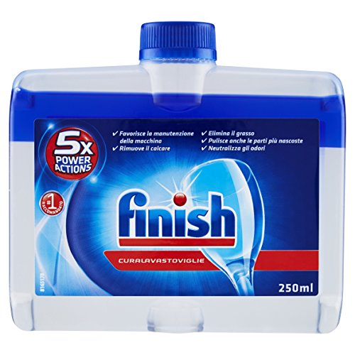 Finish Curalavastoviglie Additivo Lavastoviglie, Regular, 2 Pezzi, 250 ml