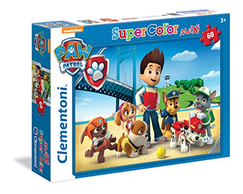 Clementoni 26576 - Paw Patrol Maxi Puzzle, 60 Pezzi